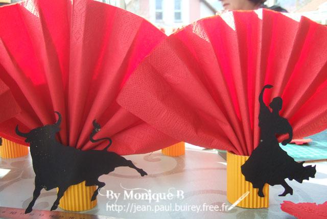 décoration de table espagnole #4